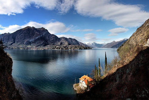 Италии секс озерах