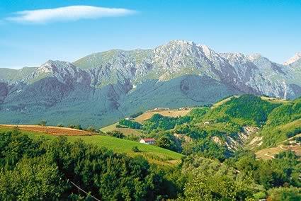 Абруццо - горы