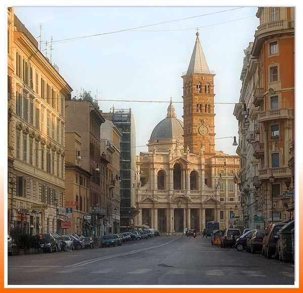 Рим - Собор Пресвятой Девы Марии Великой