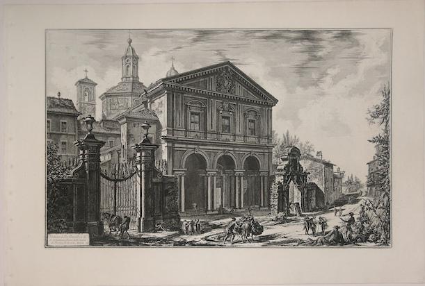 Базилика Святого Себастьяна - гравюра