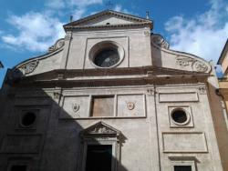 Церковь Св. Августина в Риме - фасад