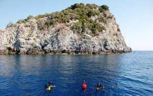 Остров Бергеджи - Италия