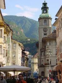 Город Больцано - Италия