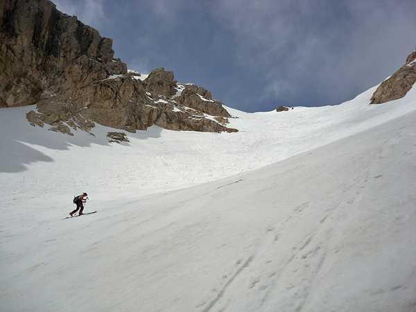 Самый южный ледник в Европе Кальдероне
