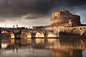 Рим - Замок Святого Ангела (Castel Sant'Angelo)