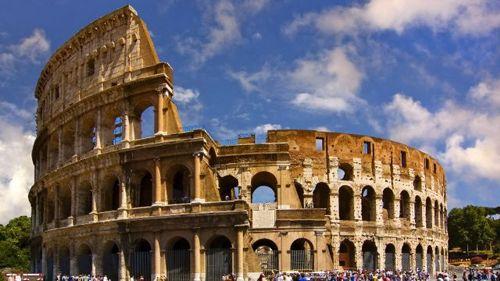 Монументы Рима - Колизей