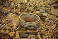 Колизей - макет Рима