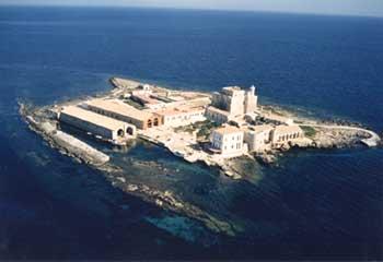 Остров Формика - Италия