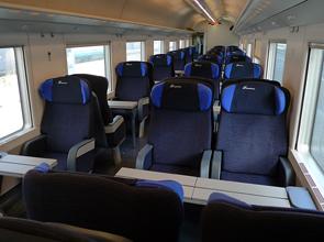 Белая Стрела - вагон первого класса