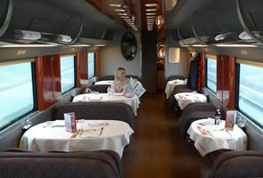 Красная стрела, вагон-ресторан