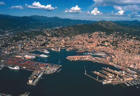 Генуя - порт