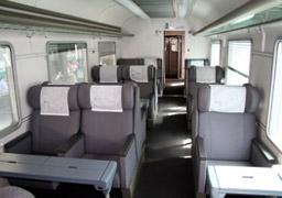 Интерсити - вагон первого класса