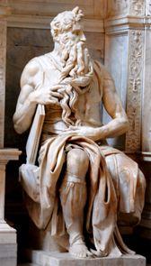 Скульптурная композиция Моисея