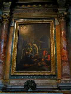 Освобождение Святого Петра от оков работы художника Джованни Батиста Пароди