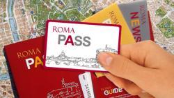 Комплект карт Roma Pass