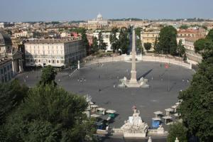 Пьяцца дель Пополо в Риме