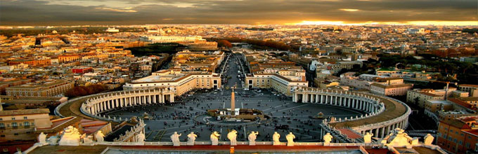 Площадь Святого Петра - панорама