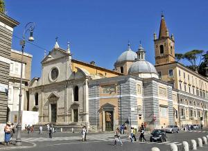 Санта-Мария-дель-Пополо: фасад