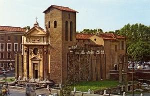 Сан-Никола-ин-Карчере - церковь и колокольня
