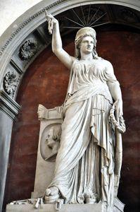 Первая в мире статуя Свободы во Флоренции