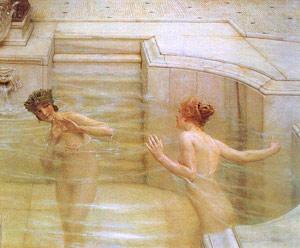 Римские термы стали источником удовольствия