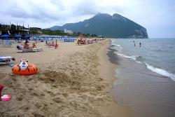 Пляж Террачины в провинции Латина