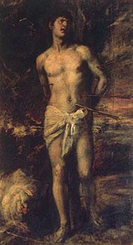 """""""Святой Себастьян"""" - полотно Тициана. Эрмитаж."""