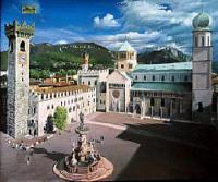 Тренто - Пьяцца дель Дуомо