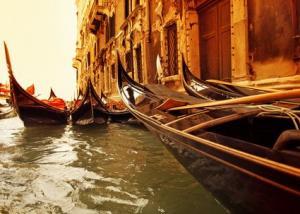 Венеция - гондолы