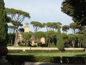 Вилла Боргезе - фрагмент парка