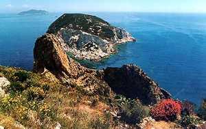Остров Занноне - Италия